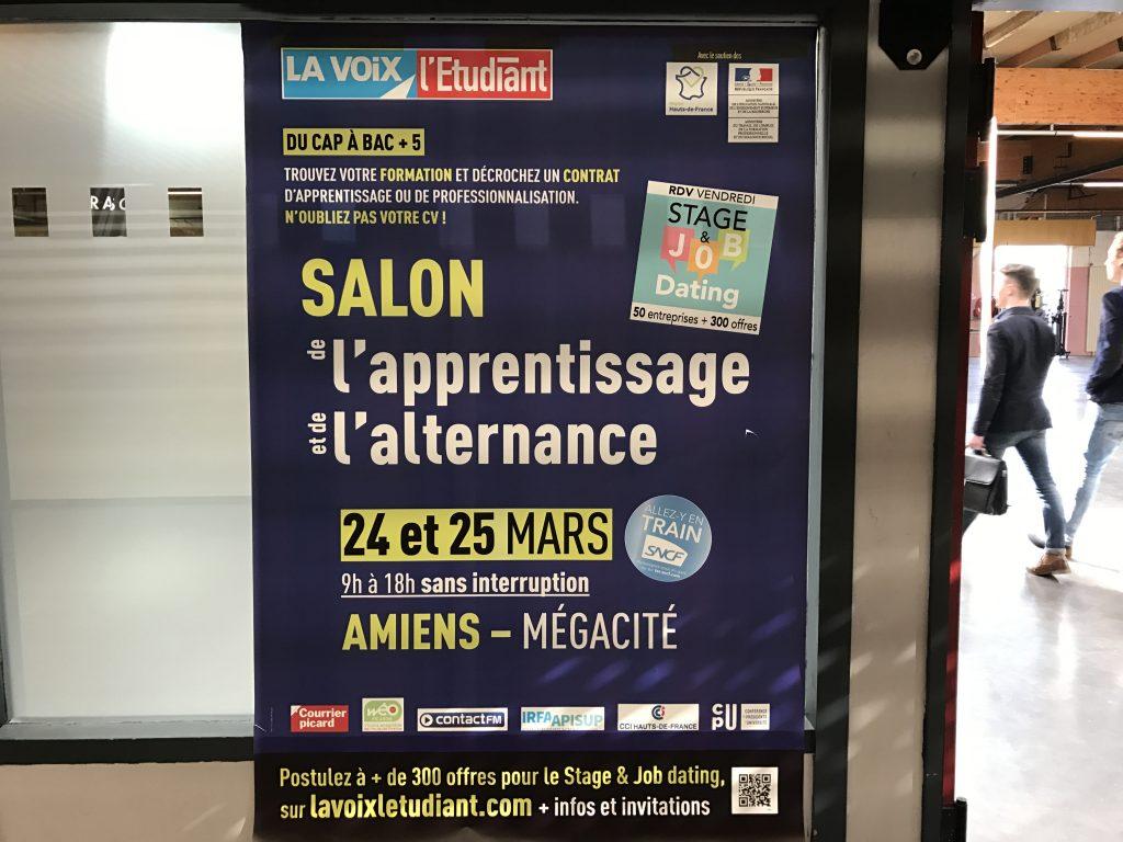 Salon de l 39 apprentissage et de l 39 alternance amiens - Salon de l apprentissage et de l alternance bordeaux ...