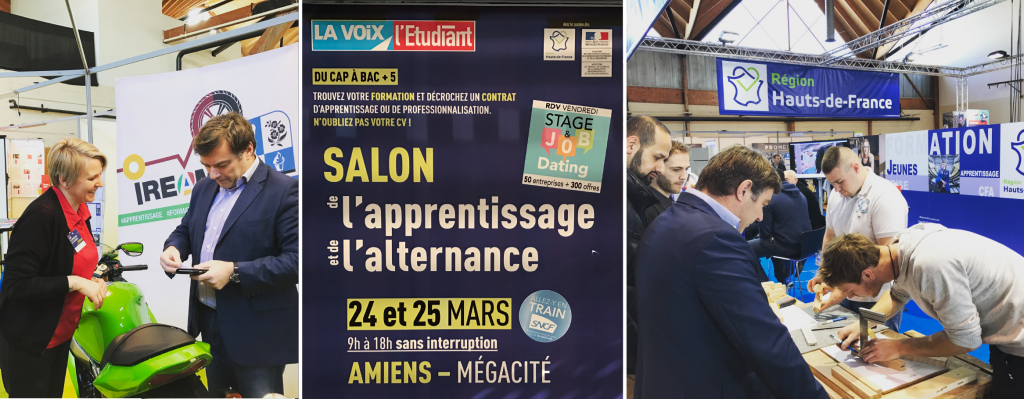 Salon de l 39 apprentissage et de l 39 alternance amiens - Salon de l alternance et de l apprentissage ...